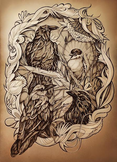 Creative Art Drawings Animals