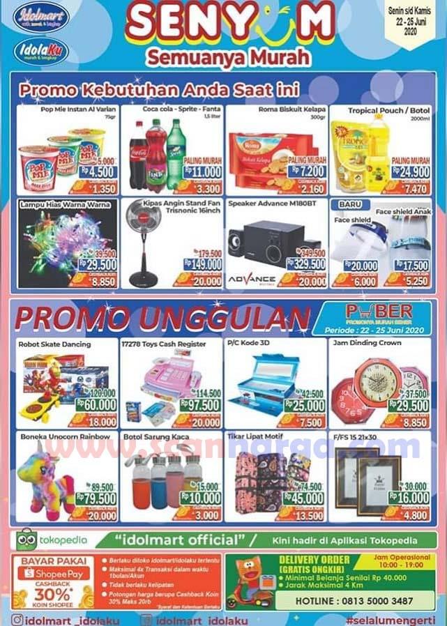 Katalog Promo Idol Mart Idolaku 22 - 25 Juni 2020