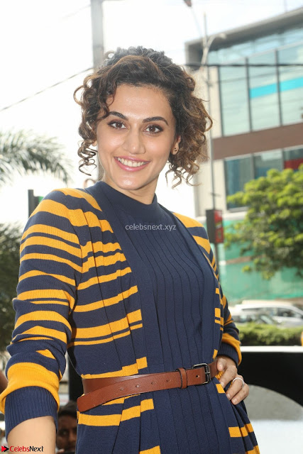 Taapsee Pannu looks super cute at United colors of Benetton standalone store launch at Banjara Hills ~  Exclusive Celebrities Galleries 003.JPG