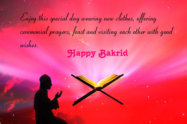 Bakrid wishes wallpapers