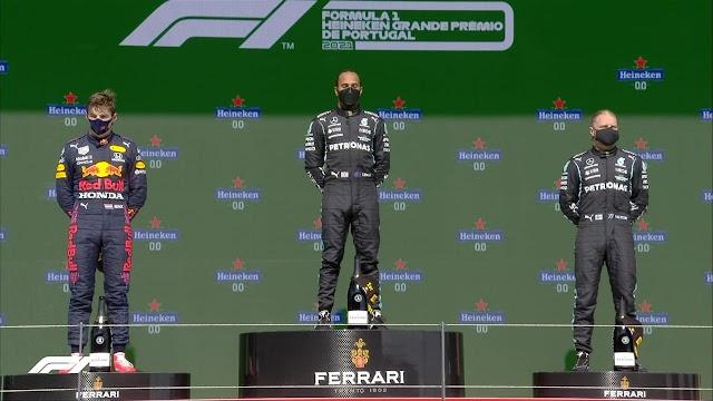F1. PORTUGAL. LEWIS SIEMPRE LEWIS.