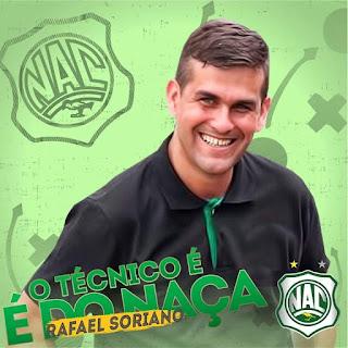 Treinador confirma para 10 de dezembro início da pré-temporada do Nacional de Patos
