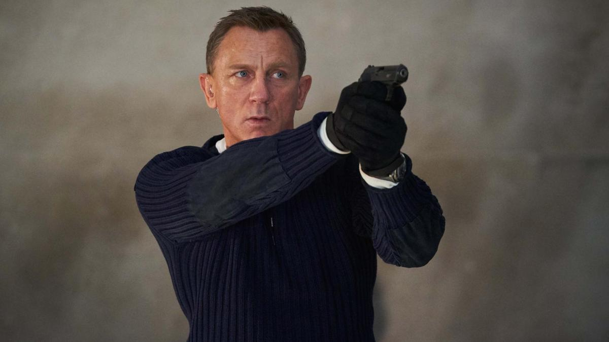 James Bond No Time to Die in Saudi Arabia, October