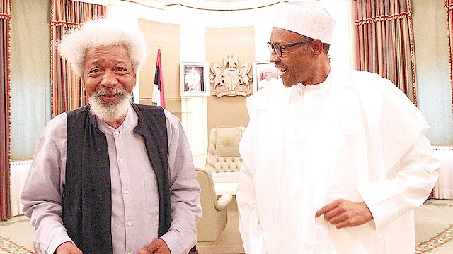 I don't believe President Muhammadu Buhari is in charge – Professor Wole Soyinka