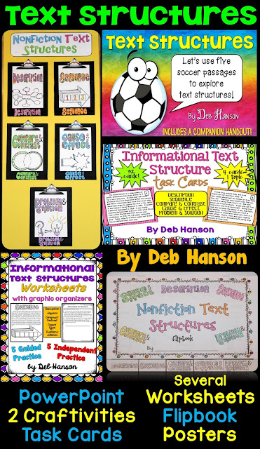 Nonfiction Text Features BUNDLE!!  This file contains so many activities for teaching upper elementary and middle school students about text structures. More than 100 passages are included!