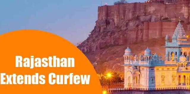Rajasthan Extends Curfew : Nunews
