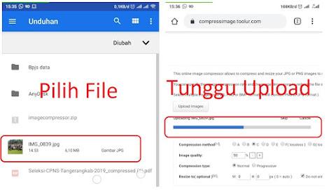Cara Mengecilkan Ukuran File Gambar JPG