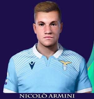 PES 2021 Faces Nicolò Armini by Rachmad ABs