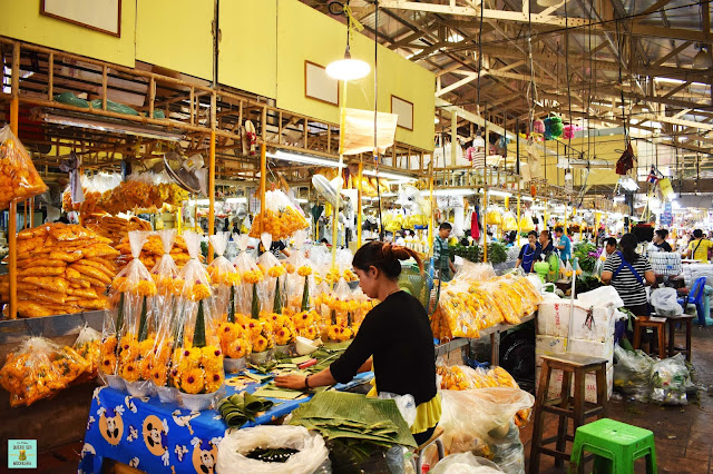 Pak Klong Market, Bangkok