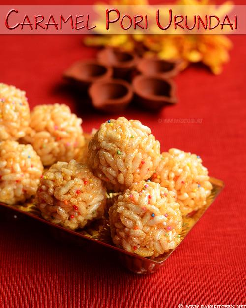 caramel-pori-urundai-recipe