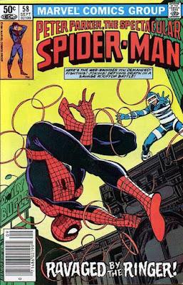 Spectacular Spider-Man #58, the Ringer