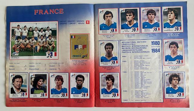 Figurine Euro '84 Francia