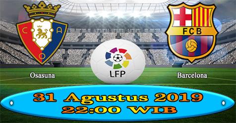 Prediksi Bola855 Osasuna vs Barcelona 31 Agustus 2019