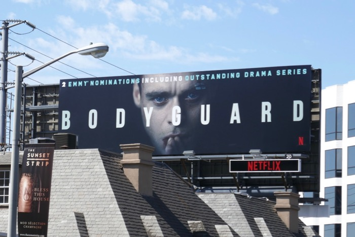 Bodyguard 2019 Emmy nominee billboard