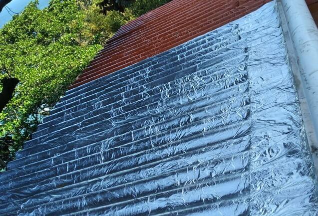 Aplicação de Primer e Manta adesiva no telhado RJ