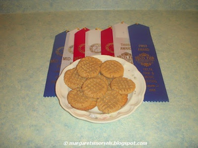 Margaret's Morsels | Three Ingredient Peanut Butter Cookies