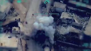"""بالفيديو: الطائرات المسيرة التركية.. تدك قوات الأسد وتخيف أنصار """"بي كا كا"""""""