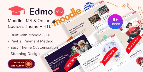 Best Moodle LMS and Online Courses Theme