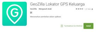 Aplikasi Geozilla Untuk Melacak Lokasi Berdasarkan Nomor HP