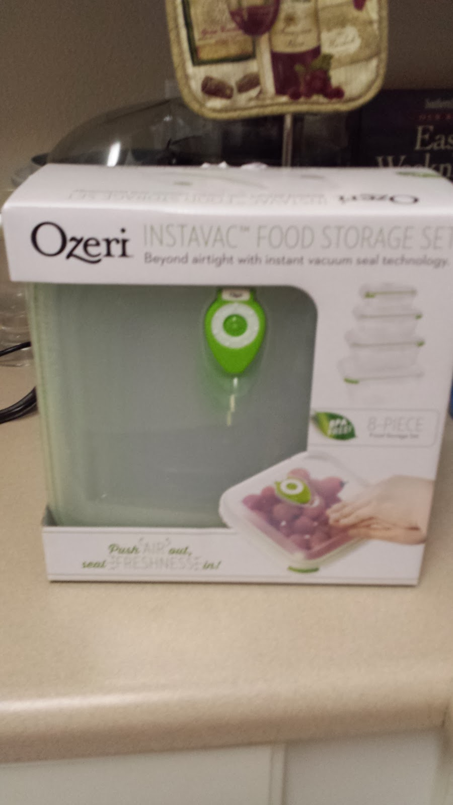 Keep Your Produce Fresh Longer- Ozeri Instavac Food Storage Set Review