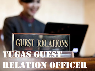 Tugas Guest Relation Officer