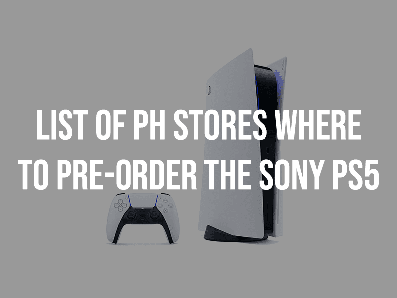 List of retailers where to pre-order the Sony PlayStation 5 in the Philippines
