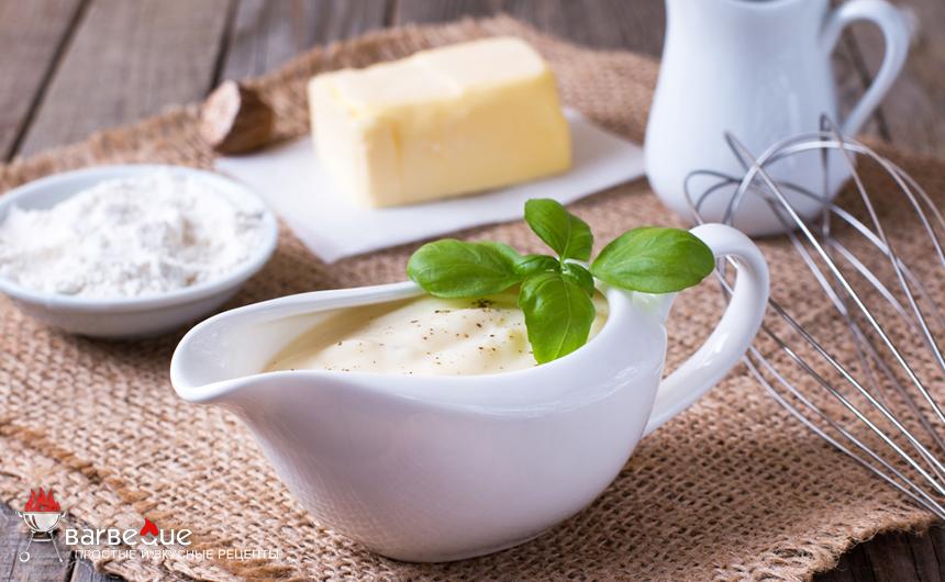 Белый соус для лазаньи