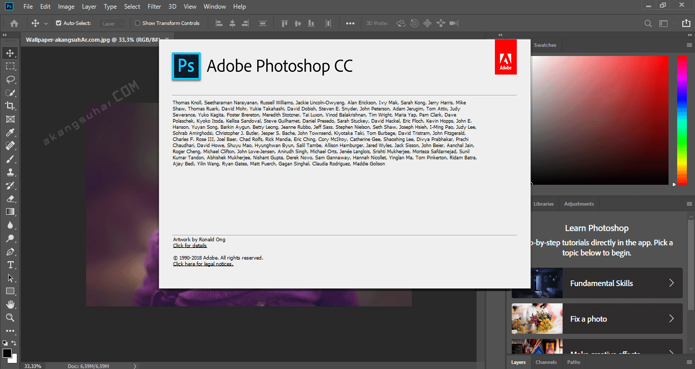Download Free Adobe Photoshop CC 2019 Latest Version, Adobe Photoshop CC 2019 Serial Number