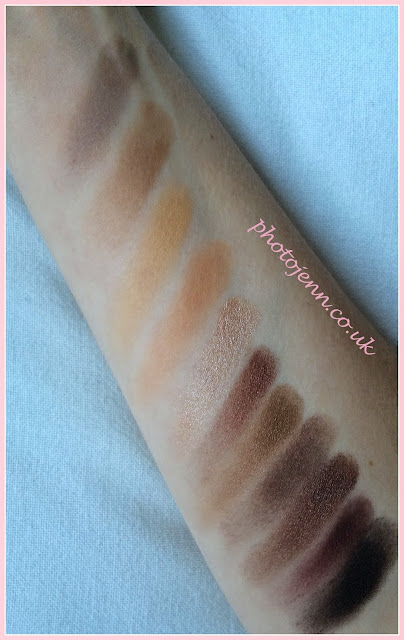 Sleek-Au-Naturel- Palette-Review-swatches