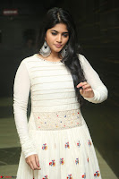 Megha Akash in beautiful White Anarkali Dress at Pre release function of Movie LIE ~ Celebrities Galleries 040.JPG
