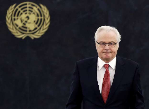 Russia's U.N. envoy Churkin dies suddenly in New York