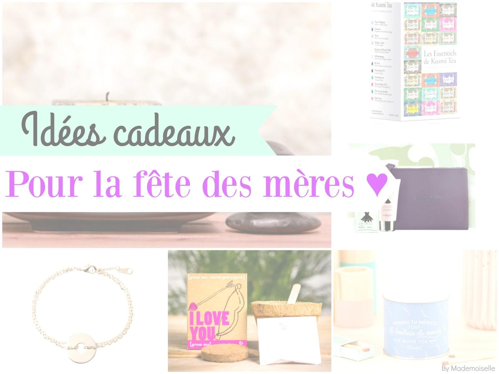 id es cadeaux pour la f te des m res by mademoiselle. Black Bedroom Furniture Sets. Home Design Ideas
