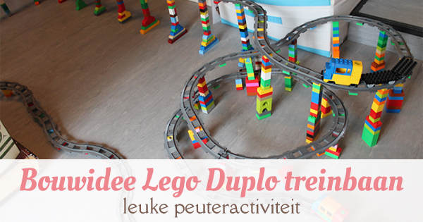 bouwidee lego duplo treinbaan