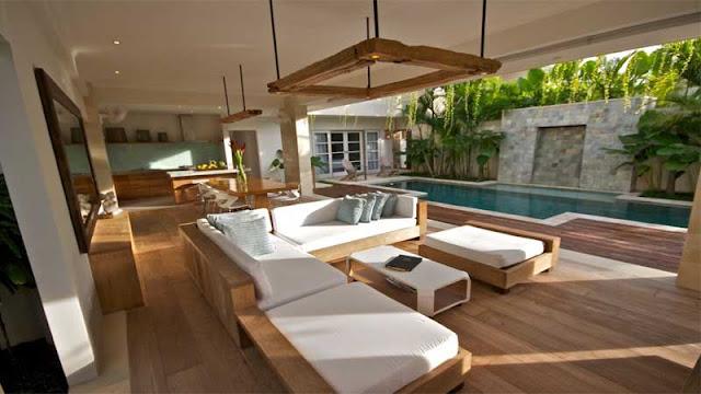 Rekomendasi lantai parket untuk villa