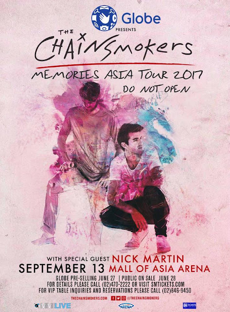 2017 The Chainsmokers Concert: Memories Do Not Open Tour