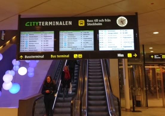 bus västerås stockholm airport