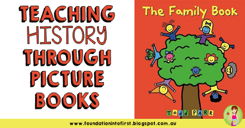 history, hass, curriculum, foundation, year, prep, early years, social studies, picture books, books, book, study, curriculum, australia