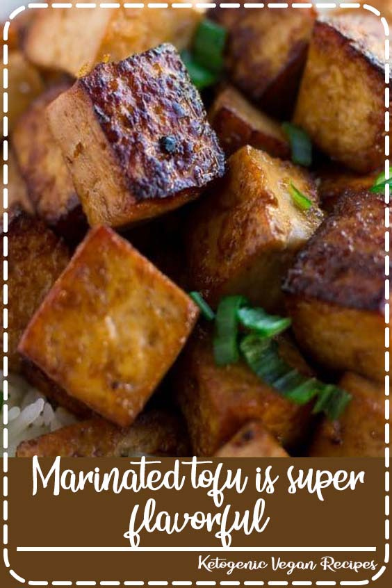 Marinated tofu is super flavorful and easy to make Marinated tofu is super flavorful