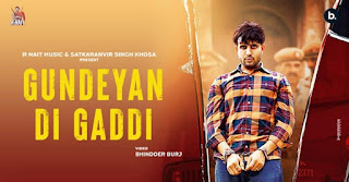Gundeyan Di Gaddi Lyrics in English – R Nait