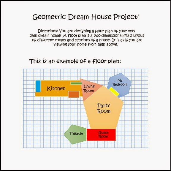 Studentsavvy 10 activities with geometry shapes for Build dream home online for fun