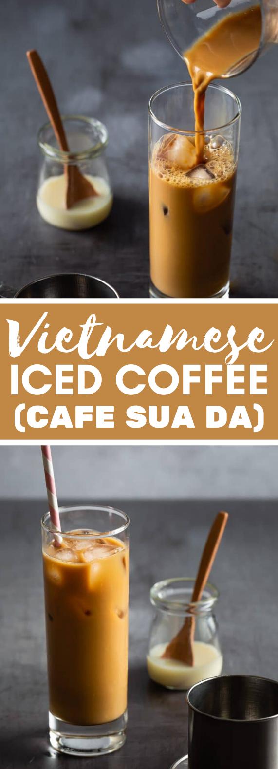 VIETNAMESE ICED COFFEE (CAFE SUA DA) #drinks #milk