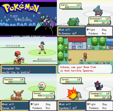 Pokemon Sky Twilight GBA ROM Download