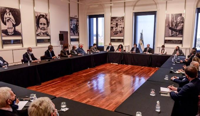 El Gobierno Nacional se reúne con empresarios y gremialistas para la reactivación económica