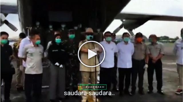 Terawan dan Prabowo Berbeda Pendapat Soal Pakai Masker, Wartawan Bingung Mau Ikuti Yang Mana