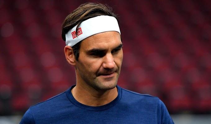 Federer se lesionó y se perderá exhibición en Bogotá y Roland Garros.