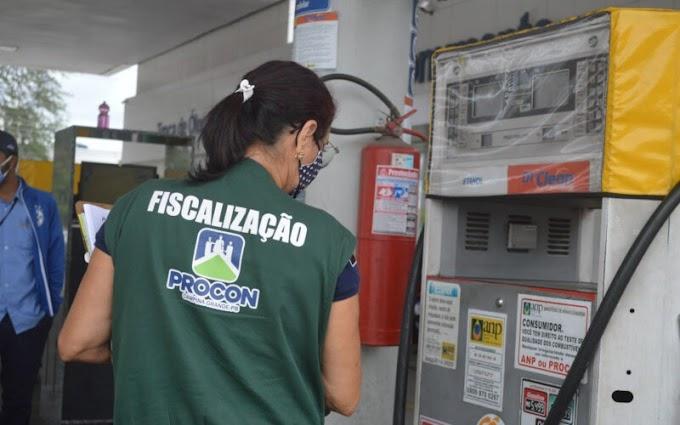 CG: preço do litro da gasolina aumenta 3,70% em menos de 30 dias