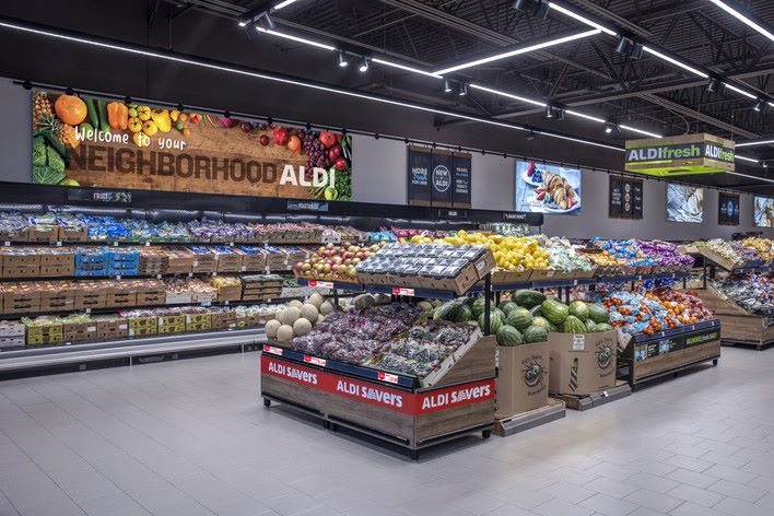 In store look at Aldi Savers