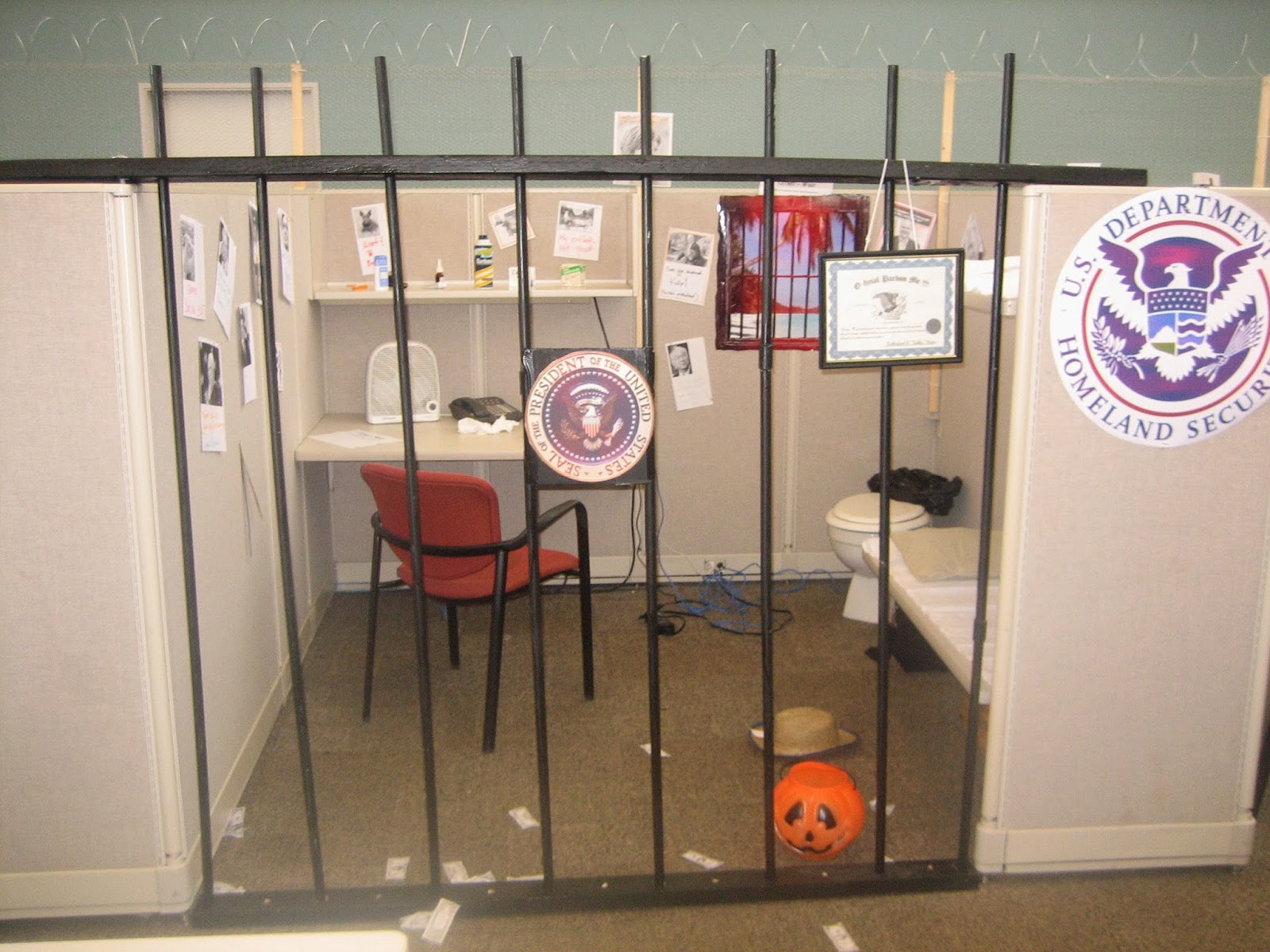 Halloween At The Office Halloween 2008 Quot Prison Quot
