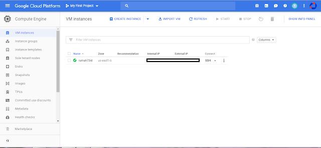 Cara Mendapatkan VPS Gratis Selamanya Dari Google
