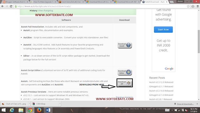 Click On Download Zip (The Arrow Shows)